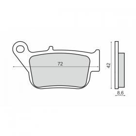 KDS0089 NHC SUZUKİ Z1000 03-06